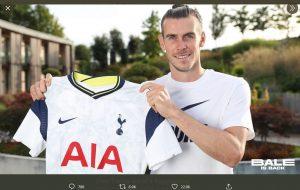 Gareth Bale Lebih Tertarik Gabung Tottenham Hotspur