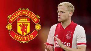 Donny Van de Beek Resmi Bergabung Dengan Manchester United